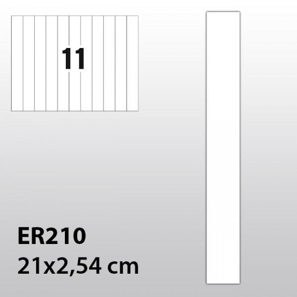 Streifen-Etiketten aus Polyester für Laserdrucker ER210