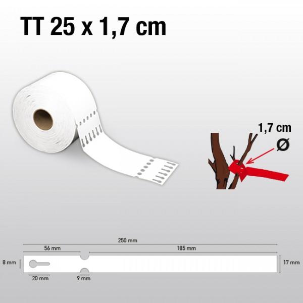 Schlaufenetiketten für Thermotransferdrucker TT17250 HDPE 150µ