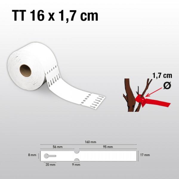 Schlaufenetiketten für Thermotransferdrucker TT17160 HDPE 150µ
