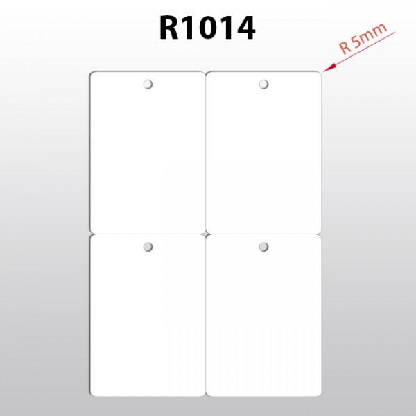 Hängeetiketten aus Polyester R1014