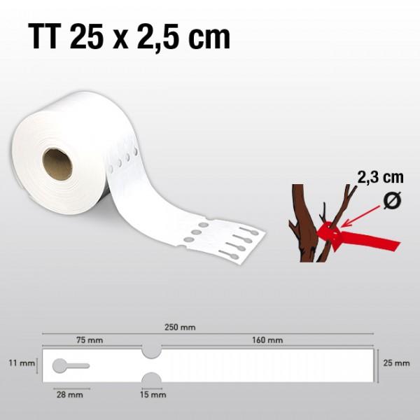Schlaufenetiketten für Thermotransferdrucker TT25250 HDPE 150µ