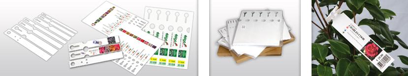 Schlaufenetiketten-Polyester-Laserdrucker