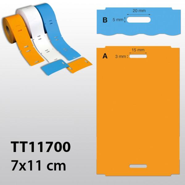 rechteckige Etiketten für TT TT11700