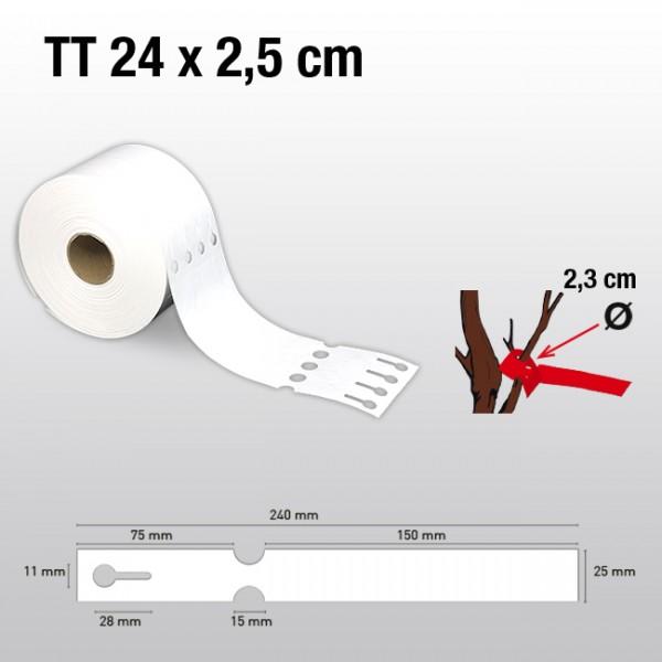 Schlaufenetiketten aus Kunststoff TT25240 LDPE