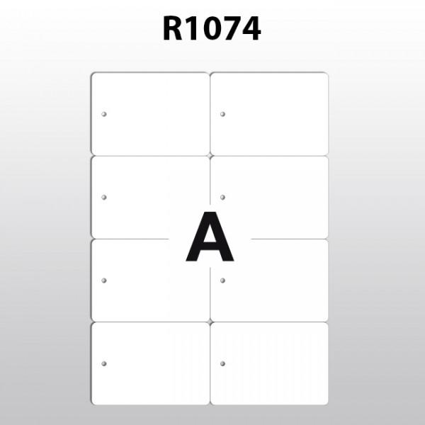 Hängeetiketten aus Polyester für Laserdrucker R1074